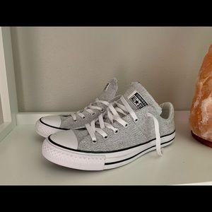 Size 10 Woman Salt & Pepper Converse